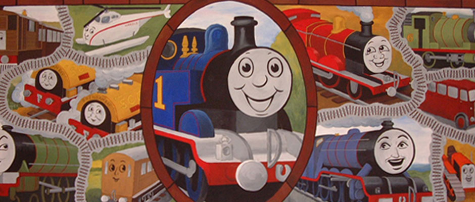 Thomas the Tank Engine Children's Wall Mural