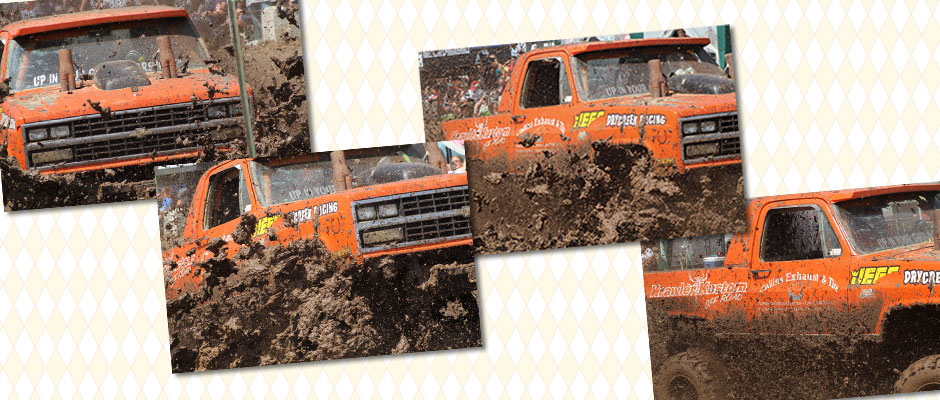 Mud Truck Race Photography