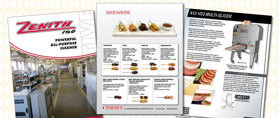 Sales Sheets & Marketing Materials